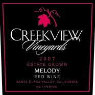 Greg's Pick – Creekview 2011 Zinfandel